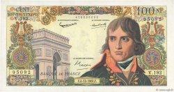 100 Nouveaux Francs BONAPARTE FRANCE  1962 F.59.17 TTB