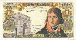 100 Nouveaux Francs BONAPARTE FRANCE  1963 F.59.23 SUP