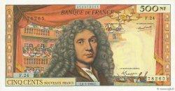 500 Nouveaux Francs MOLIÈRE FRANCE  1966 F.60.09 SUP