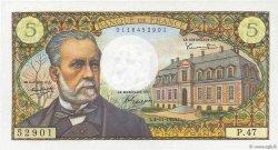 5 Francs PASTEUR FRANCE  1966 F.61.04 SPL+