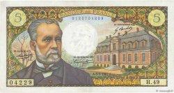 5 Francs PASTEUR FRANCE  1967 F.61.05 SUP