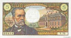 5 Francs PASTEUR FRANCE  1967 F.61.06 SUP