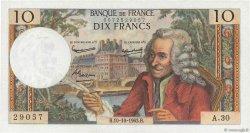 10 Francs VOLTAIRE FRANCE  1963 F.62.04 pr.SPL