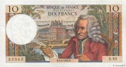 10 Francs VOLTAIRE FRANCE  1964 F.62.09 TTB+