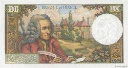 10 Francs VOLTAIRE FRANCE  1965 F.62.18 pr.SPL
