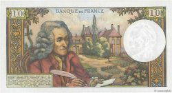 10 Francs VOLTAIRE FRANCE  1966 F.62.20 SPL
