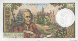 10 Francs VOLTAIRE FRANCE  1968 F.62.31 SUP