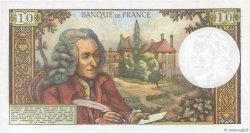 10 Francs VOLTAIRE FRANCE  1971 F.62.52 SUP+