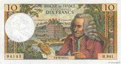 10 Francs VOLTAIRE FRANCE  1973 F.62.65 SUP