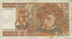 10 Francs BERLIOZ FRANCE  1973 F.63.02 B