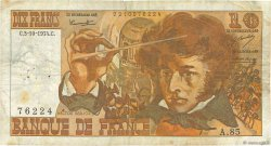 10 Francs BERLIOZ FRANCE  1974 F.63.06 TB