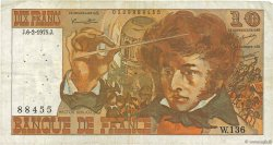 10 Francs BERLIOZ FRANCE  1975 F.63.08 TB