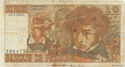 10 Francs BERLIOZ FRANCE  1976 F.63.17a B