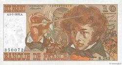 10 Francs BERLIOZ FRANCE  1976 F.63.17a TTB+