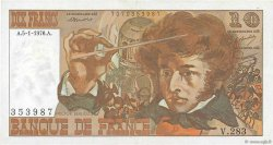 10 Francs BERLIOZ FRANCE  1976 F.63.17a pr.SUP