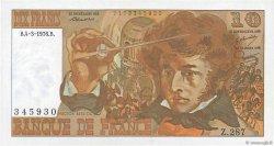 10 Francs BERLIOZ FRANCE  1976 F.63.18 SPL
