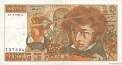 10 Francs BERLIOZ FRANCE  1977 F.63.21 TTB
