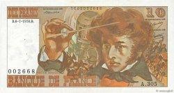 10 Francs BERLIOZ FRANCE  1978 F.63.23 SUP