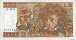 10 Francs BERLIOZ FRANCE  1978 F.63.24a TTB