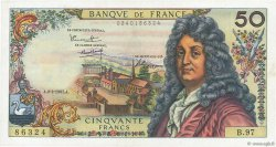 50 Francs RACINE FRANCE  1967 F.64.09 pr.SUP