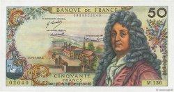 50 Francs RACINE FRANCE  1969 F.64.13 SUP