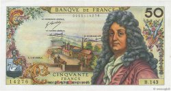 50 Francs RACINE FRANCE  1969 F.64.14 SUP