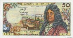 50 Francs RACINE FRANCE  1969 F.64.14 pr.SPL
