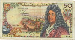 50 Francs RACINE FRANCE  1972 F.64.21 TB