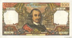100 Francs CORNEILLE FRANCE  1964 F.65.01 TTB+