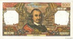 100 Francs CORNEILLE FRANCE  1964 F.65.03 TTB