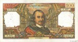 100 Francs CORNEILLE FRANCE  1968 F.65.21 TTB