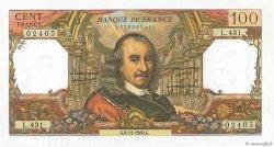 100 Francs CORNEILLE FRANCE  1969 F.65.28 SPL