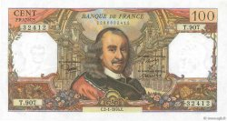 100 Francs CORNEILLE FRANCE  1976 F.65.51 XF+