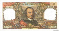 100 Francs CORNEILLE FRANCE  1977 F.65.56 pr.SPL