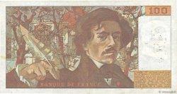 100 Francs DELACROIX FRANCE  1978 F.68.01 TTB