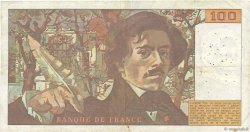 100 Francs DELACROIX FRANCE  1978 F.68.01 TB