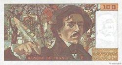 100 Francs DELACROIX FRANCE  1978 F.68.01 NEUF
