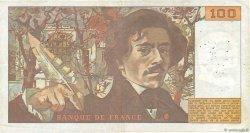 100 Francs DELACROIX FRANCE  1978 F.68.04 TB
