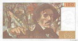 100 Francs DELACROIX modifié FRANCE  1978 F.69.01d SUP