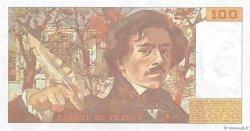 100 Francs DELACROIX modifié FRANCE  1984 F.69.08b