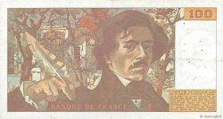 100 Francs DELACROIX modifié FRANCE  1985 F.69.09 TTB