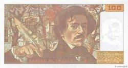 100 Francs DELACROIX modifié FRANCE  1989 F.69.13d pr.NEUF