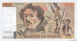 100 Francs DELACROIX modifié FRANCE  1989 F.69.13d SPL