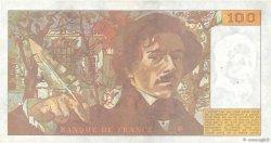 100 Francs DELACROIX imprimé en continu FRANCE  1990 F.69bis.01a TTB+