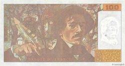 100 Francs DELACROIX imprimé en continu FRANCE  1990 F.69bis.02a TTB