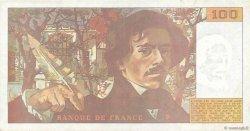 100 Francs DELACROIX imprimé en continu FRANCE  1990 F.69bis.02d TTB+