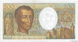 200 Francs MONTESQUIEU FRANCE  1981 F.70.01 TTB+