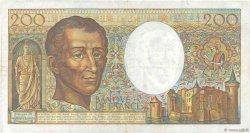 200 Francs MONTESQUIEU FRANCE  1985 F.70.05 TTB