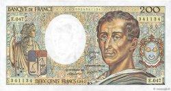 200 Francs MONTESQUIEU FRANCE  1987 F.70.07 SUP