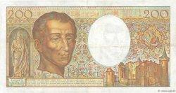 200 Francs MONTESQUIEU FRANCE  1988 F.70.08 TTB
